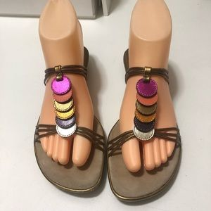 Cole Haan beautiful soft leather sandals